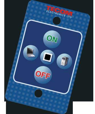 Tecom TCD-100 LCD projector control system