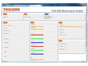 TSS-650 - HD Switcher Scaler - Webpage